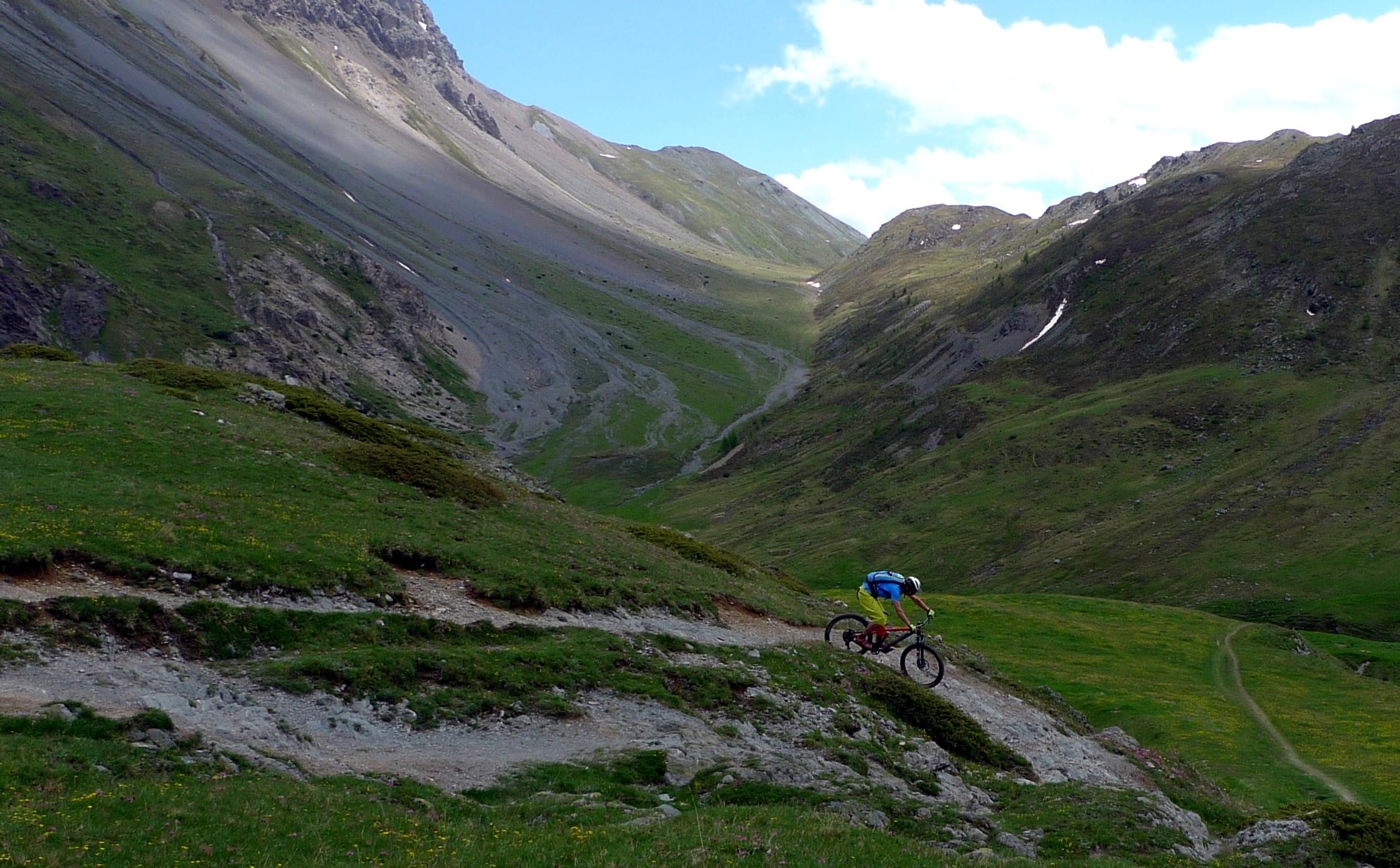 Biking in Livigno